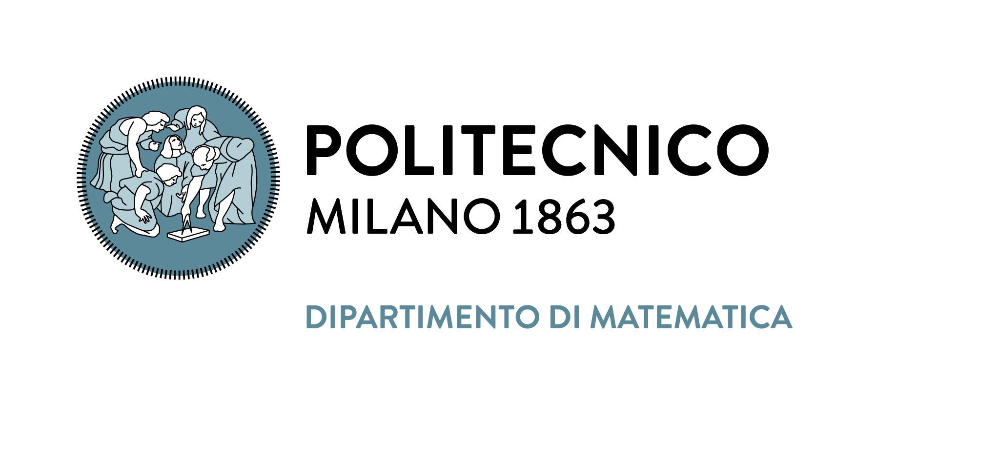 Politecnico di Milano 1863 - Dipartimento di Matematica